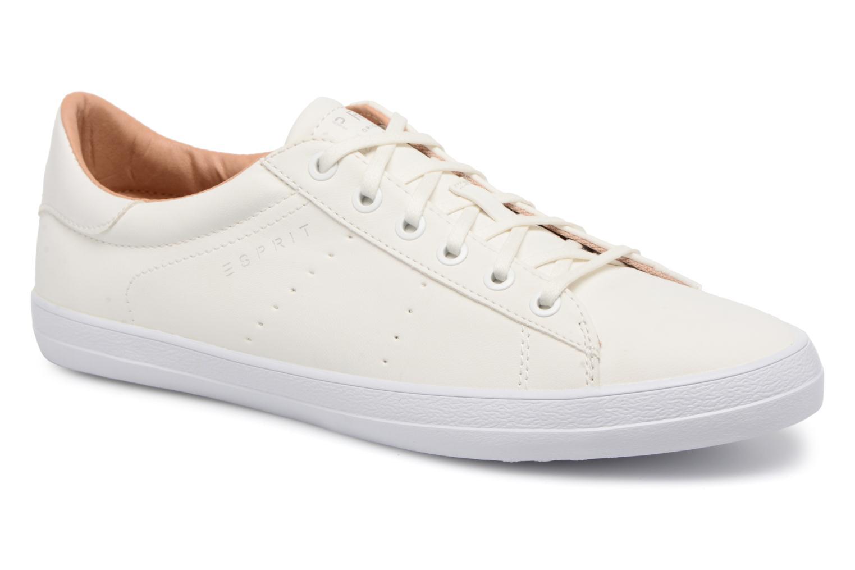 Miana Lace Up White 100
