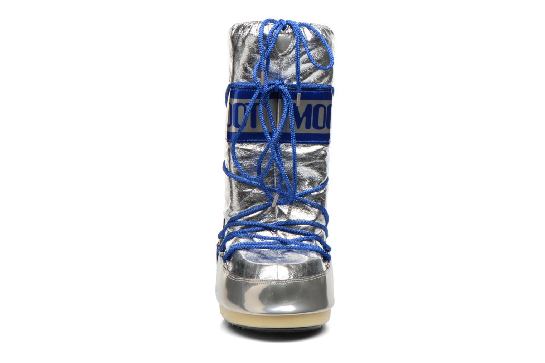 Chaussures de sport Moon Boot Satellite Argent vue portées chaussures