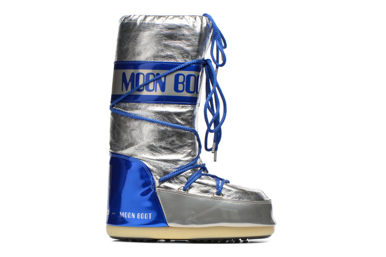 Chaussures de sport Moon Boot Satellite Argent vue derrière