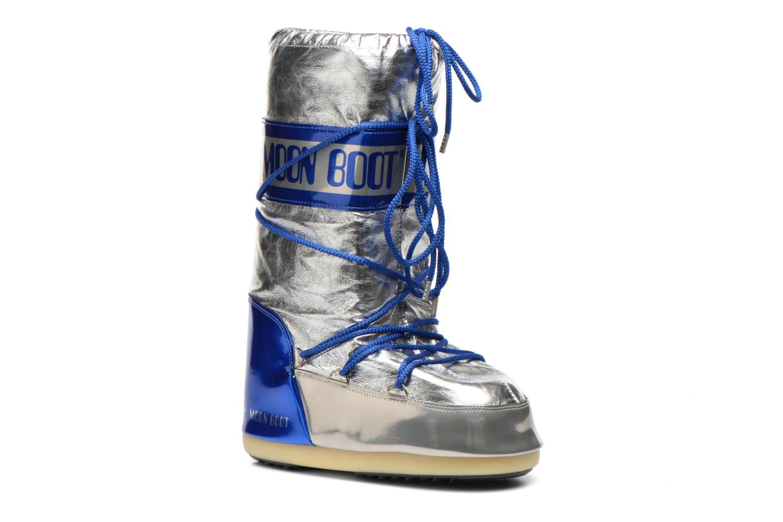 Chaussures de sport Moon Boot Satellite Argent vue détail/paire