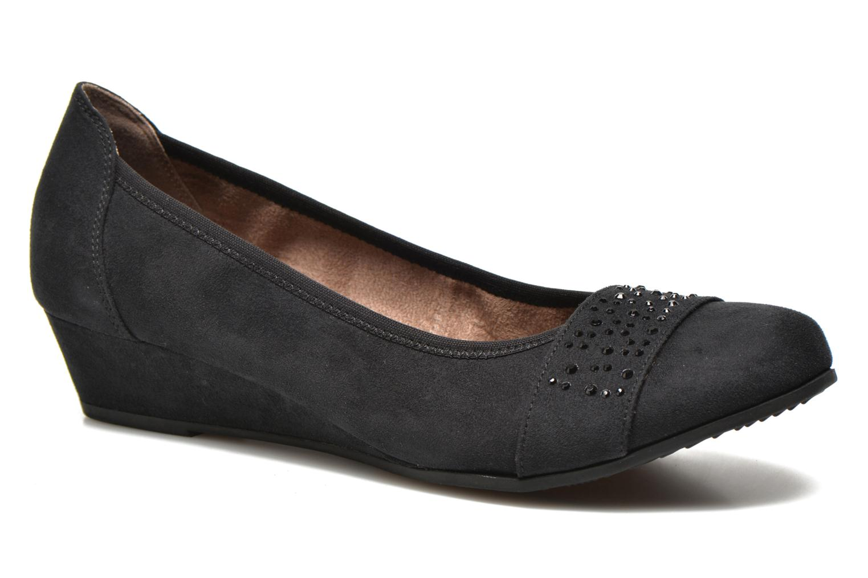 Zapatos de tacón Jana shoes Dolina Negro vista de detalle / par