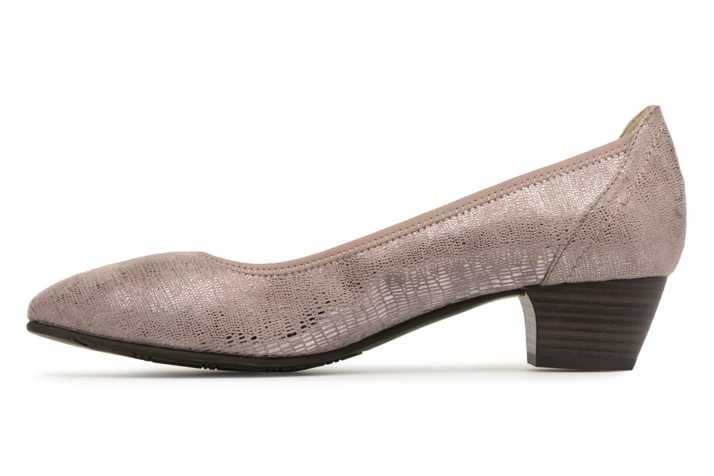 Pumps Jana shoes Danina Bruin voorkant