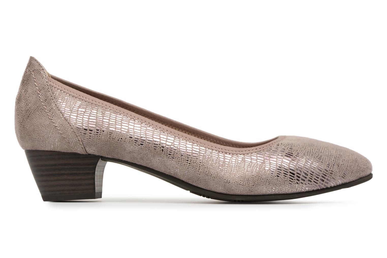 Pumps Jana shoes Danina Bruin achterkant