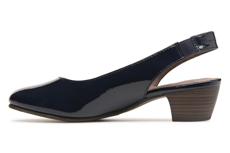 Pumps Jana shoes Orina Blauw voorkant