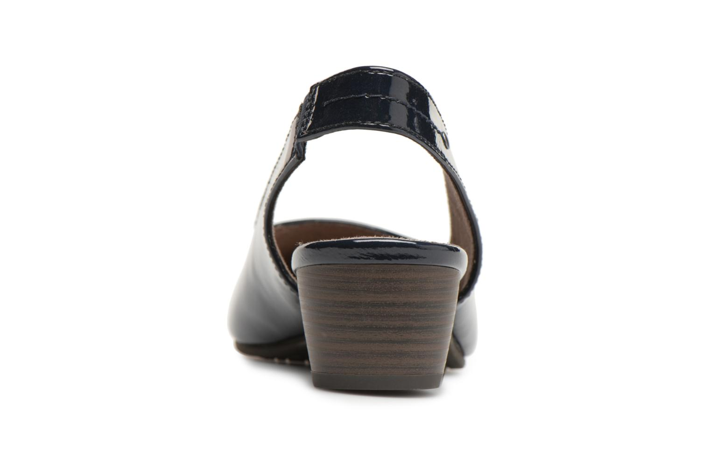 Pumps Jana shoes Orina Blauw rechts