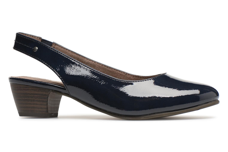 Pumps Jana shoes Orina Blauw achterkant