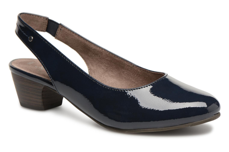 Pumps Jana shoes Orina Blauw detail