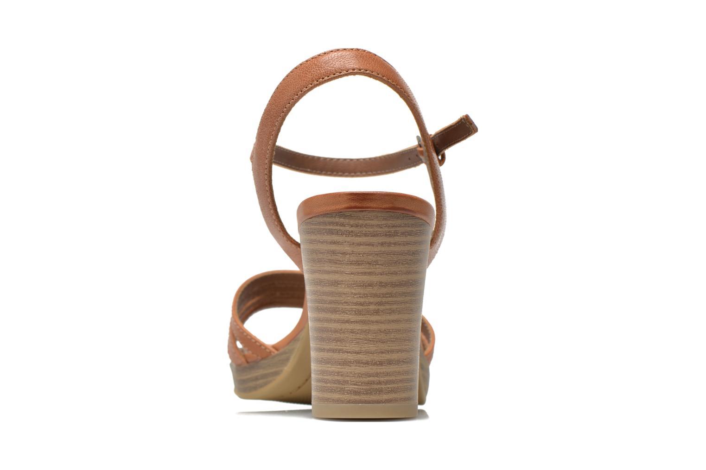 Sandales et nu-pieds S.Oliver Elsata Marron vue droite