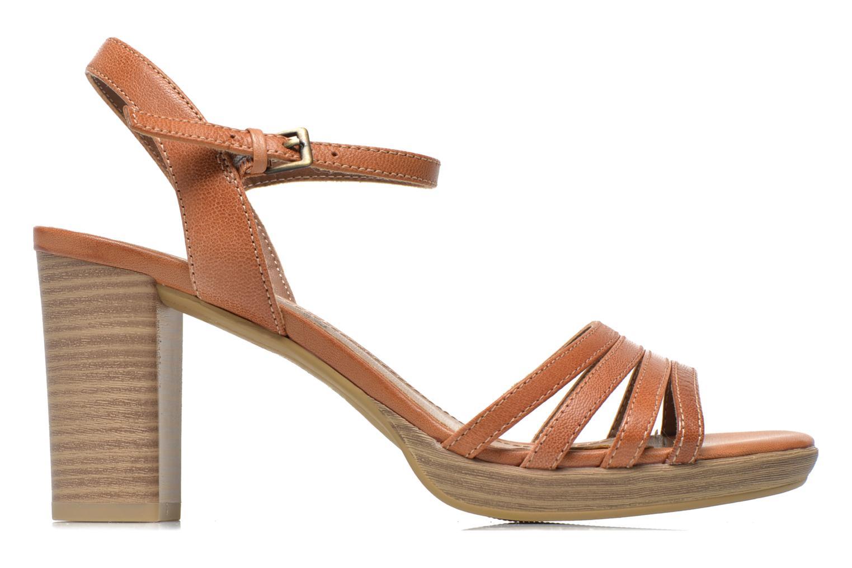 Sandales et nu-pieds S.Oliver Elsata Marron vue derrière
