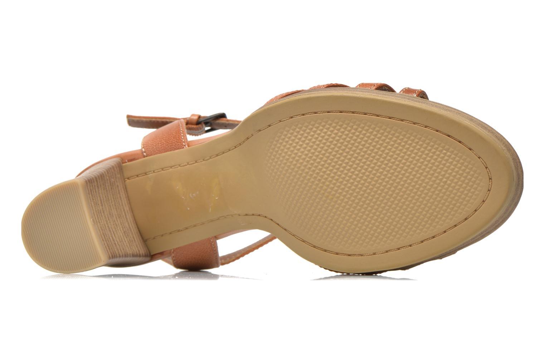 Sandales et nu-pieds S.Oliver Elsata Marron vue haut