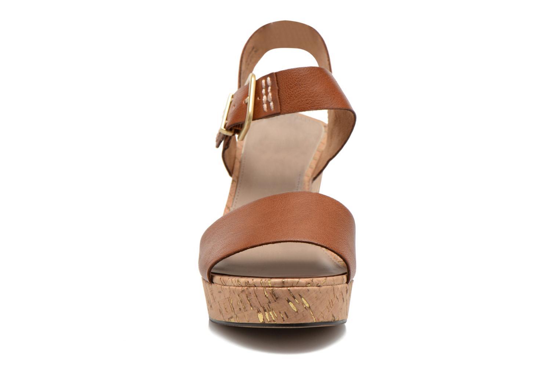 Sandales et nu-pieds S.Oliver Cabuta Marron vue portées chaussures
