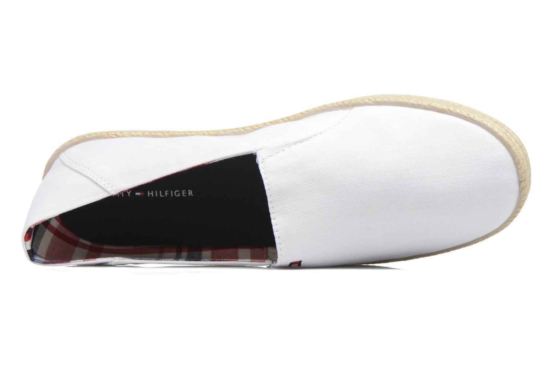 Espadrilles Tommy Hilfiger Granada 2D_1 Blanc vue gauche