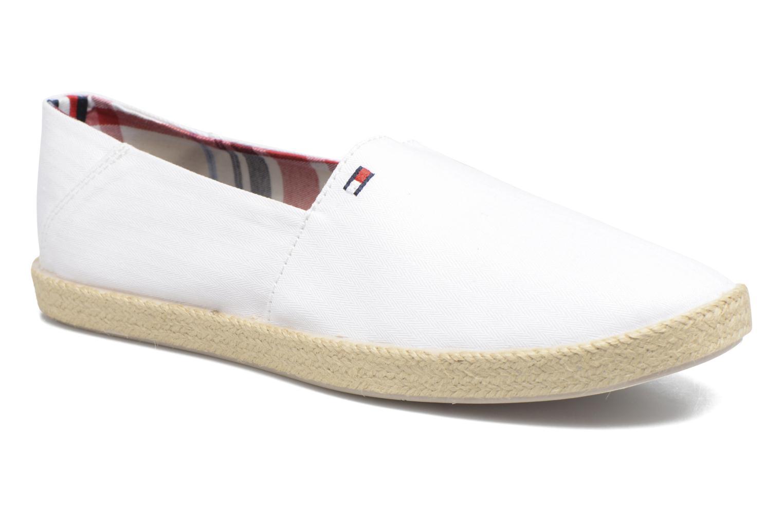 Espadrilles Tommy Hilfiger Granada 2D_1 Blanc vue détail/paire