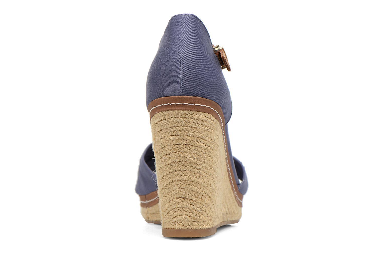 Sandales et nu-pieds Tommy Hilfiger Elena 1D Bleu vue droite