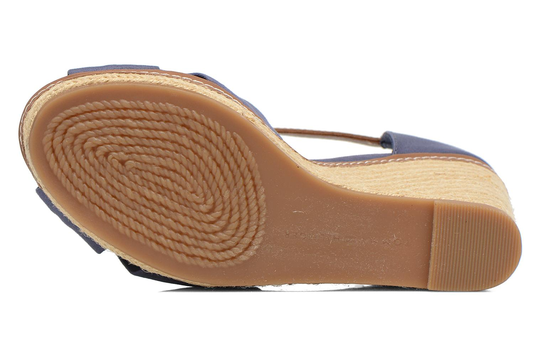 Sandales et nu-pieds Tommy Hilfiger Elena 1D Bleu vue haut