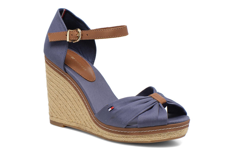 Sandales et nu-pieds Tommy Hilfiger Elena 1D Bleu vue détail/paire
