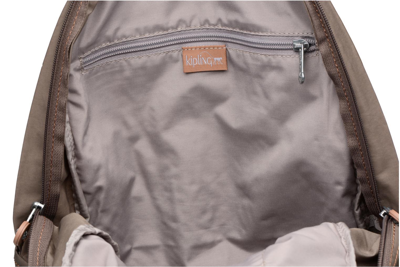 Rucksäcke kipling Clas Challenger braun ansicht von hinten