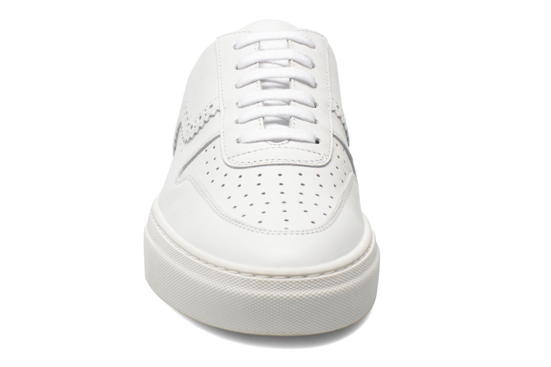 Zapatos con cordones Swear BLAKE 8 Blanco vista del modelo