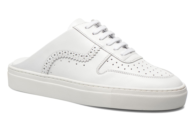Zapatos con cordones Swear BLAKE 8 Blanco vista de detalle / par