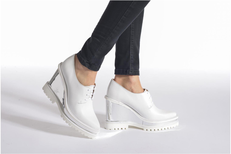 Chaussures à lacets Swear ANITA 3 Blanc vue bas / vue portée sac