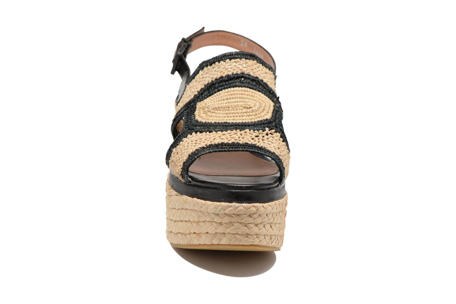 Sandals Clergerie Antic Beige model view