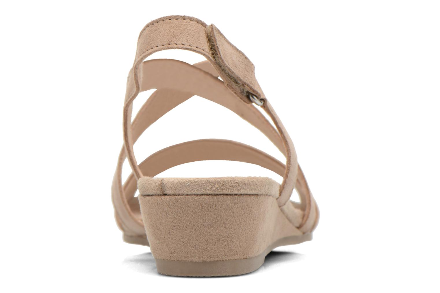 Sandals Caprice Lynopi Beige view from the right