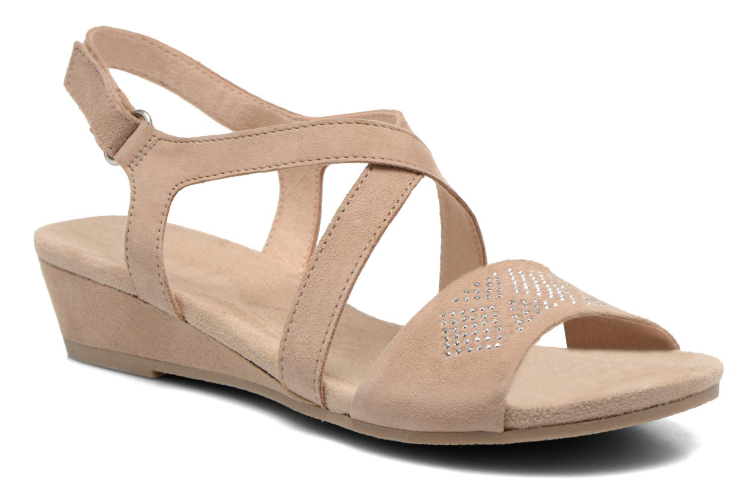 Sandals Caprice Lynopi Beige detailed view/ Pair view