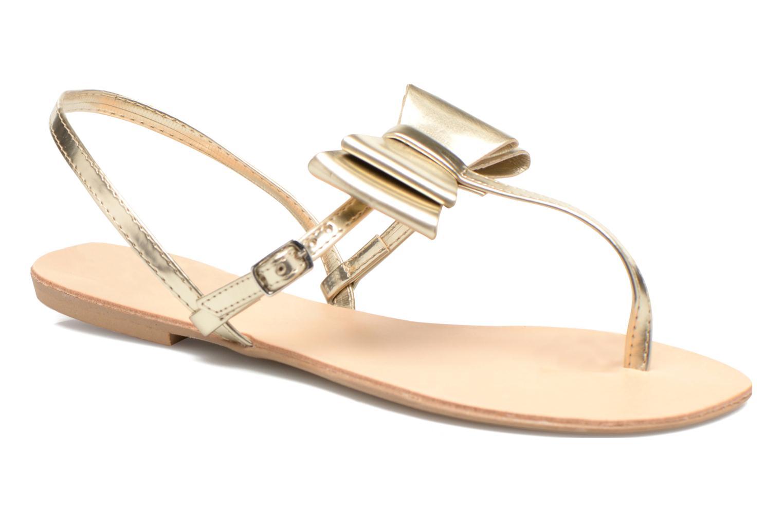 Sandales et nu-pieds I Love Shoes Donoeud Or et bronze vue détail/paire