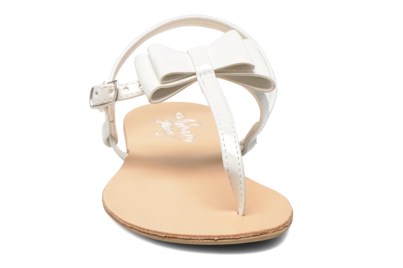 Sandales et nu-pieds I Love Shoes Donoeudou Blanc vue portées chaussures