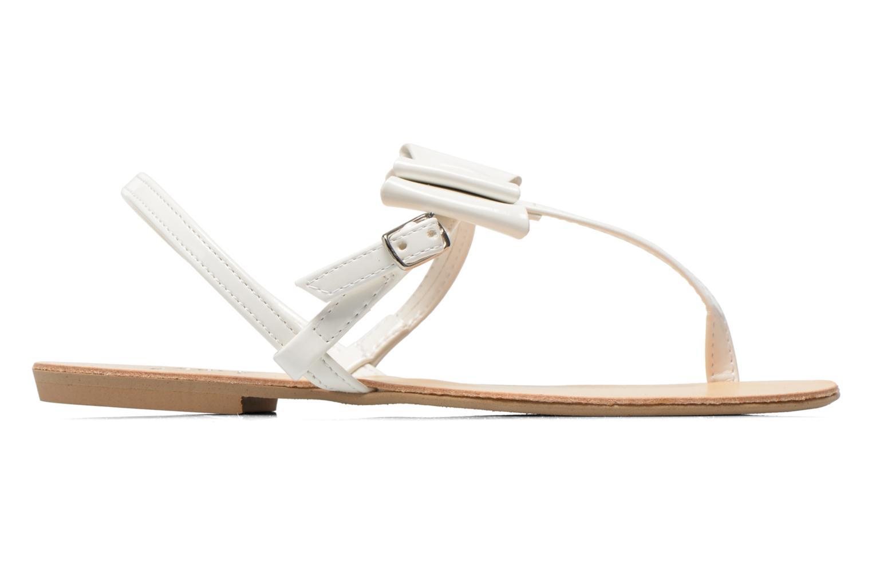 Sandales et nu-pieds I Love Shoes Donoeudou Blanc vue derrière