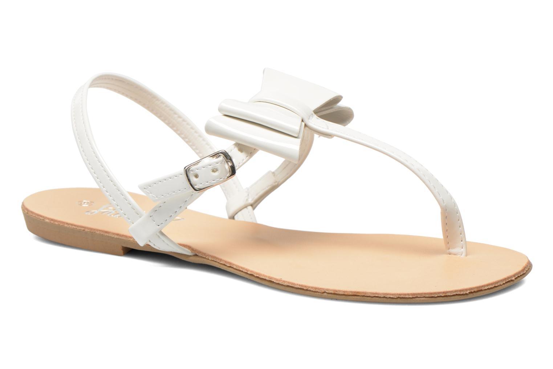Sandales et nu-pieds I Love Shoes Donoeudou Blanc vue détail/paire
