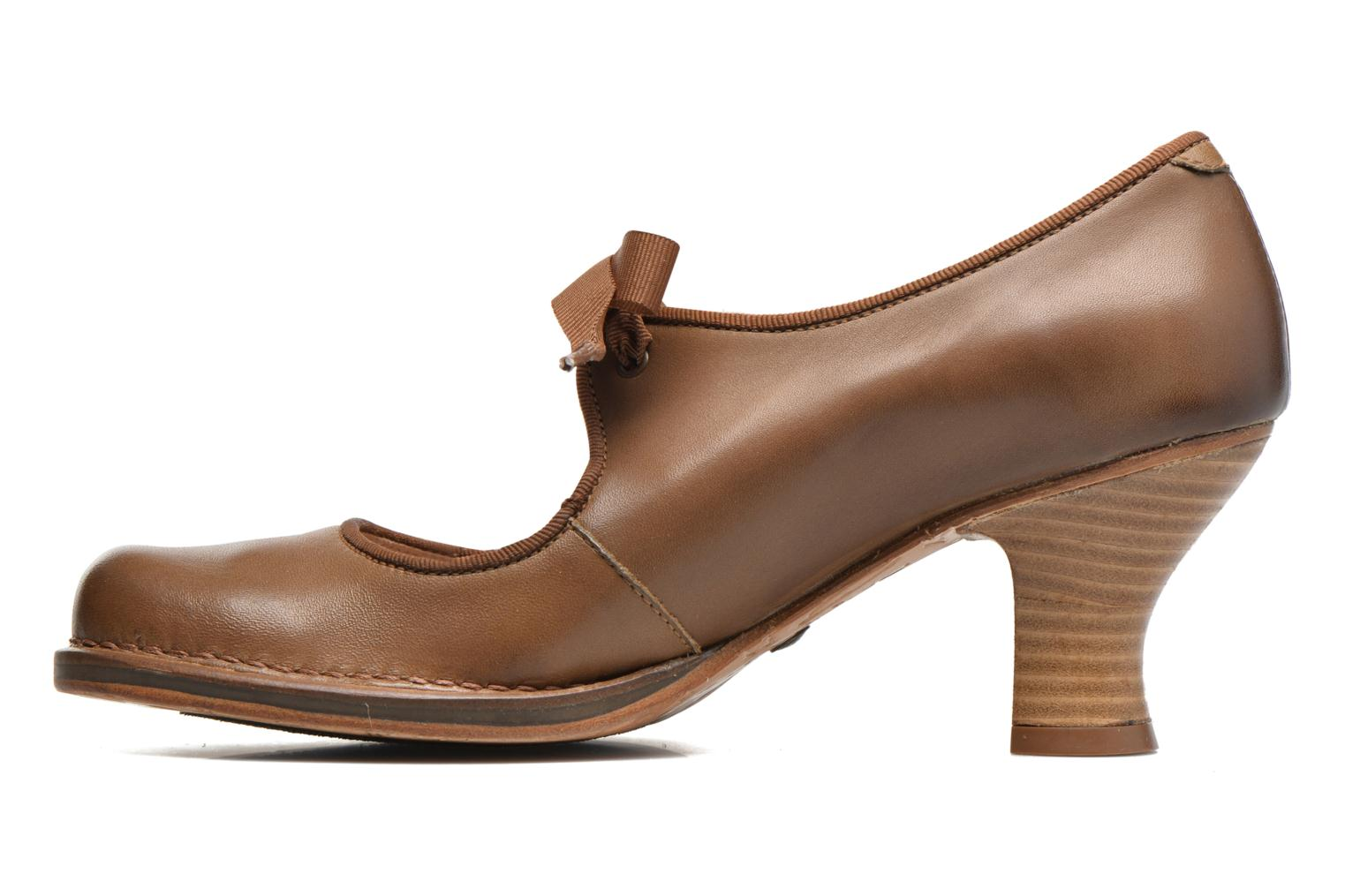 High heels Neosens Rococo S859 Brown front view