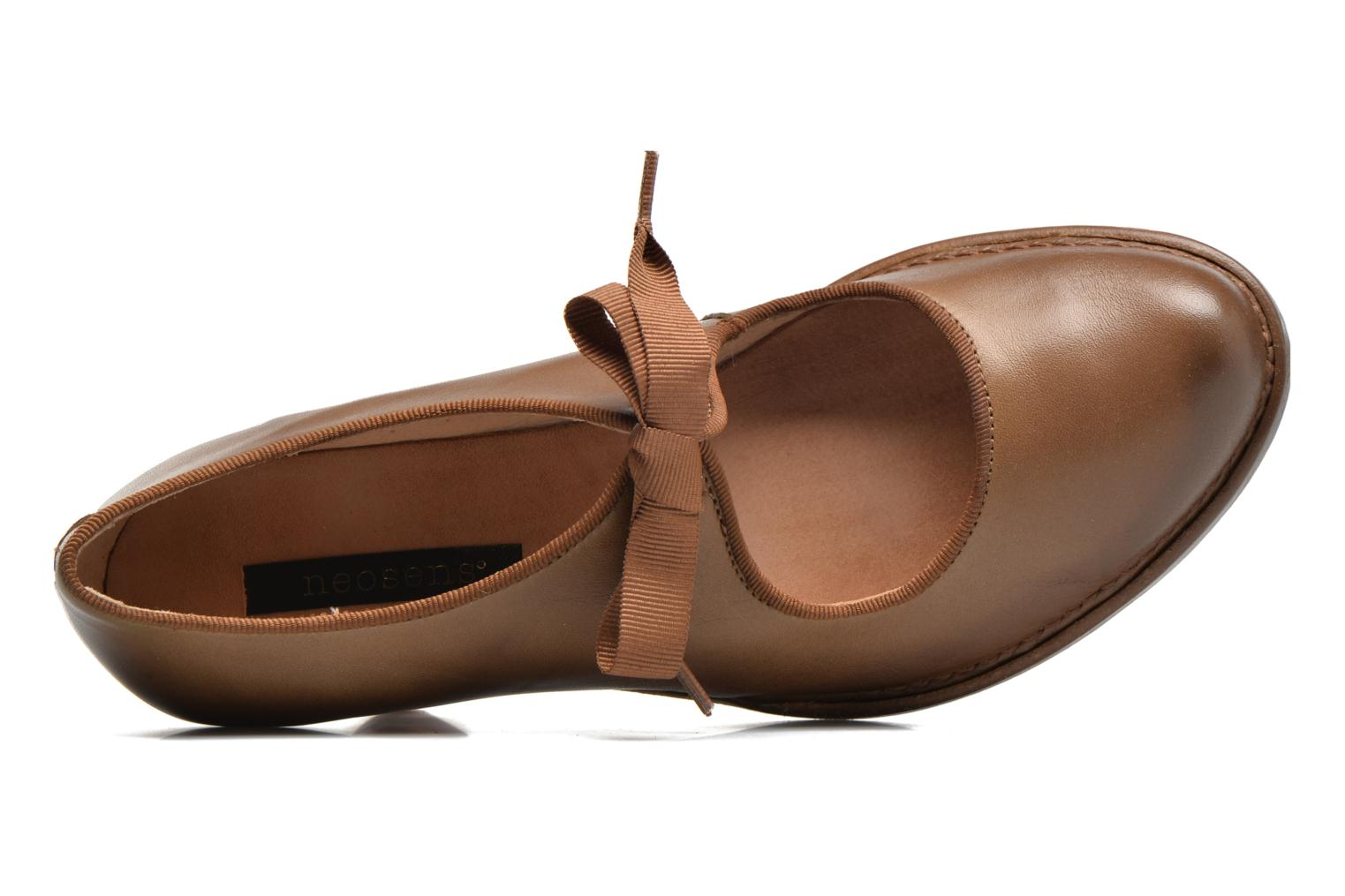 High heels Neosens Rococo S859 Brown view from the left