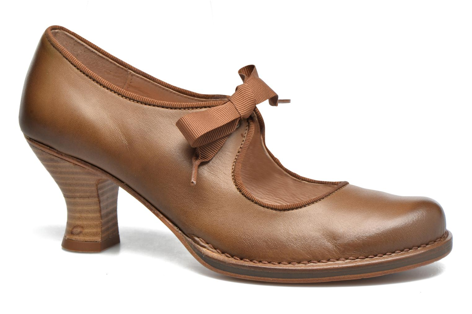 High heels Neosens Rococo S859 Brown detailed view/ Pair view