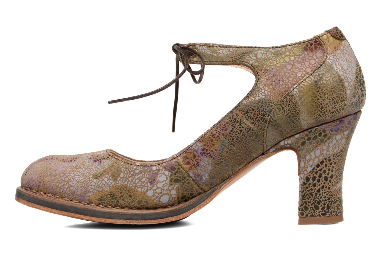 Zapatos de tacón Neosens Baladi S278 Verde vista de frente
