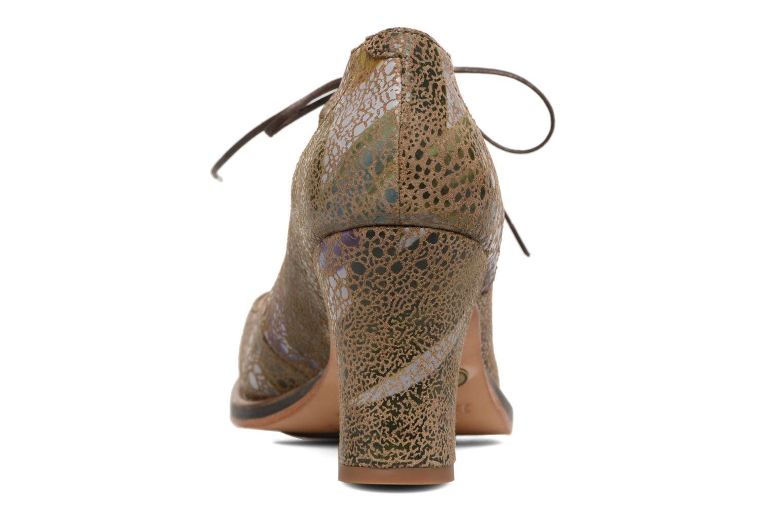 Zapatos de tacón Neosens Baladi S278 Verde vista lateral derecha