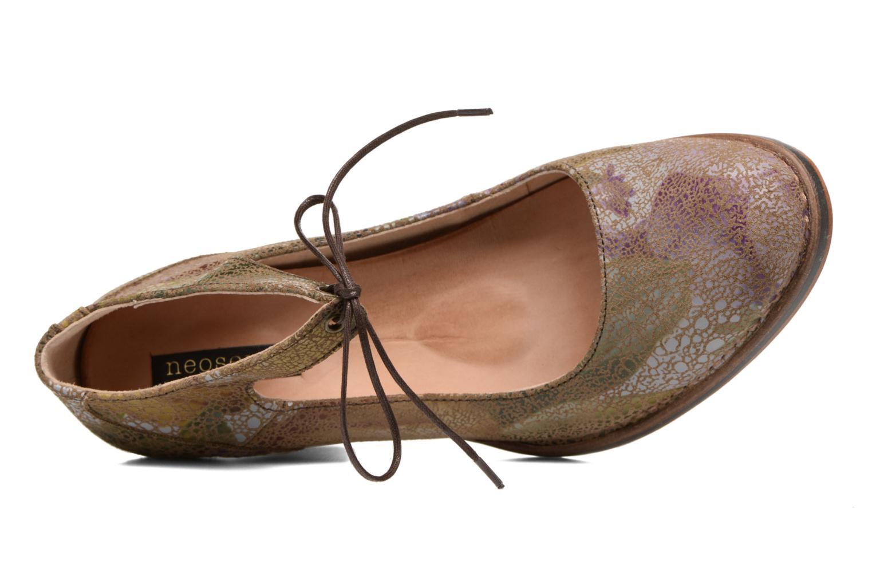 Zapatos de tacón Neosens Baladi S278 Verde vista lateral izquierda