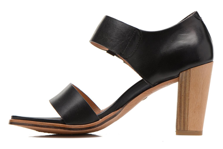 Sandals Neosens Gloria S198 Black front view