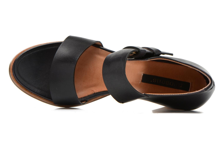 Sandales et nu-pieds Neosens Gloria S198 Noir vue gauche