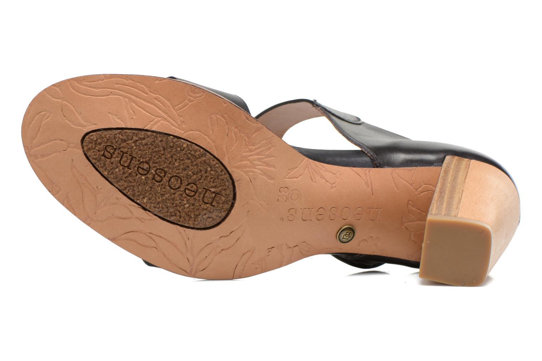 Sandales et nu-pieds Neosens Gloria S198 Noir vue haut