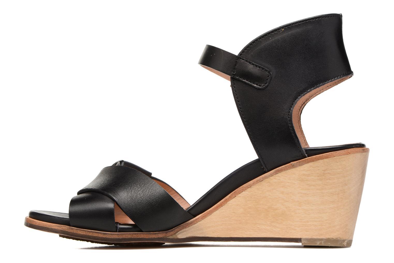 Sandali e scarpe aperte Neosens Noah S216 Nero immagine frontale