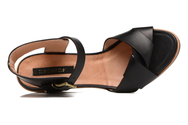 Sandali e scarpe aperte Neosens Noah S216 Nero immagine sinistra