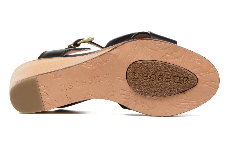 Sandali e scarpe aperte Neosens Noah S216 Nero immagine dall'alto