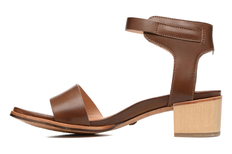 Sandales et nu-pieds Neosens Callet S145 Marron vue face