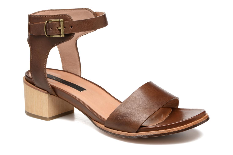 Sandales et nu-pieds Neosens Callet S145 Marron vue détail/paire