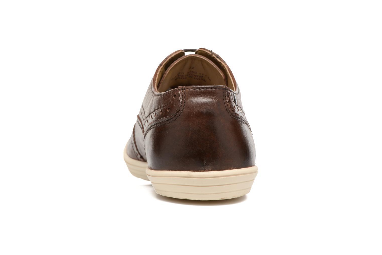 Chaussures à lacets Base London Gig Perform Marron vue droite