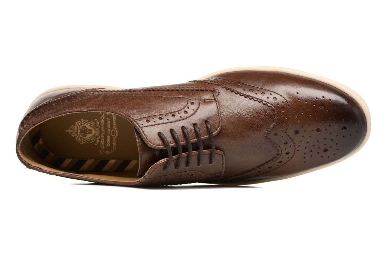 Chaussures à lacets Base London Gig Perform Marron vue gauche