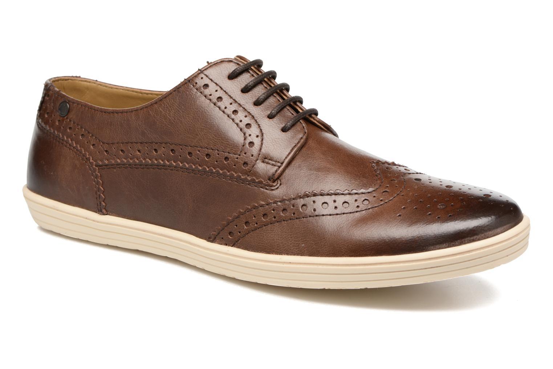 Chaussures à lacets Base London Gig Perform Marron vue détail/paire