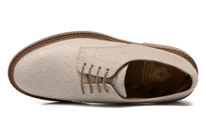 Chaussures à lacets Base London Invent Sinclair Beige vue gauche