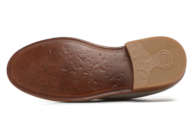 Chaussures à lacets Base London Invent Sinclair Beige vue haut